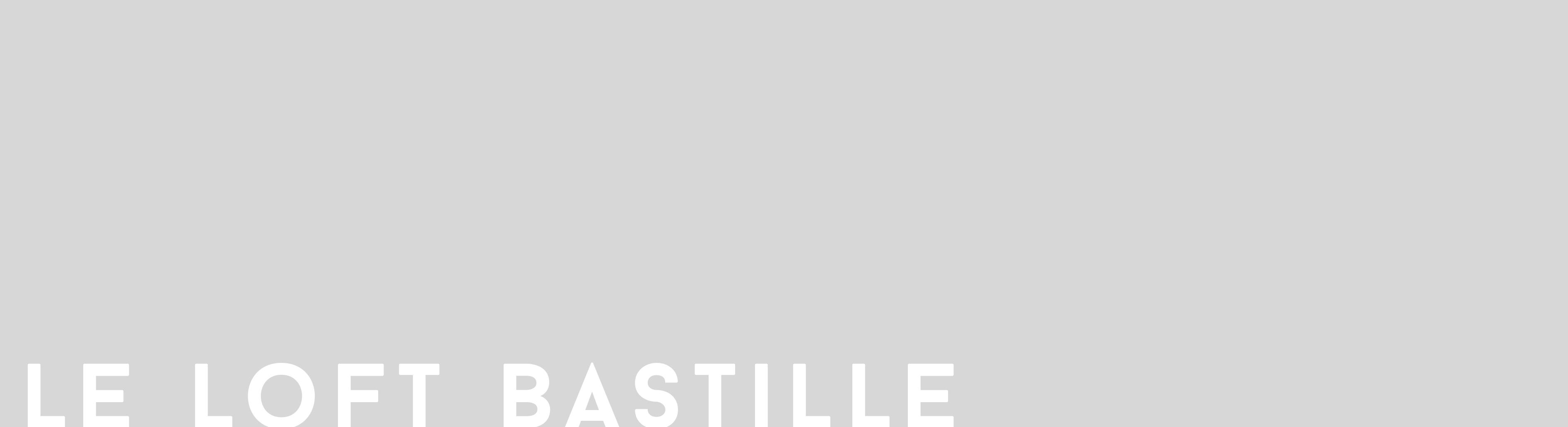 loft bastille
