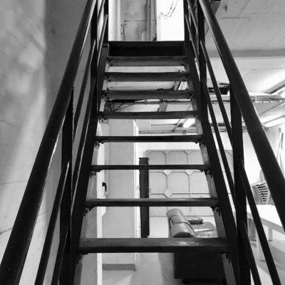 Escalier - urban sheds