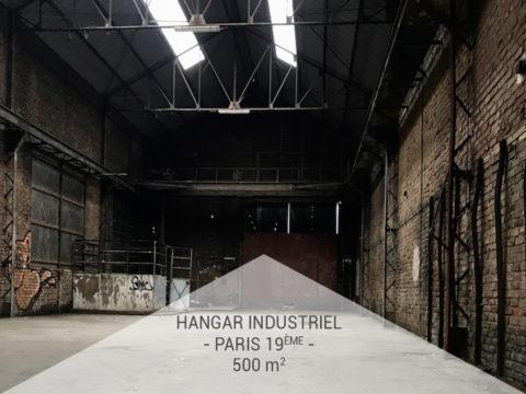 Privatisation, Hangar industriel désaffecté, Paris 19ème