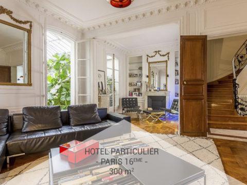 Privatisation, L'hôtel particulier Auguste Vacquerie, Paris 16ème