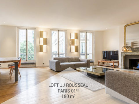Privatisation – Le loft Jean-Jacques Rousseau, Paris 1er