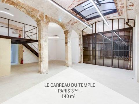 Privatisation, L'espace Carreau du Temple, Paris 3ème