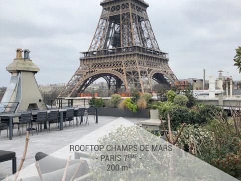Le Rooftop Champs de Mars