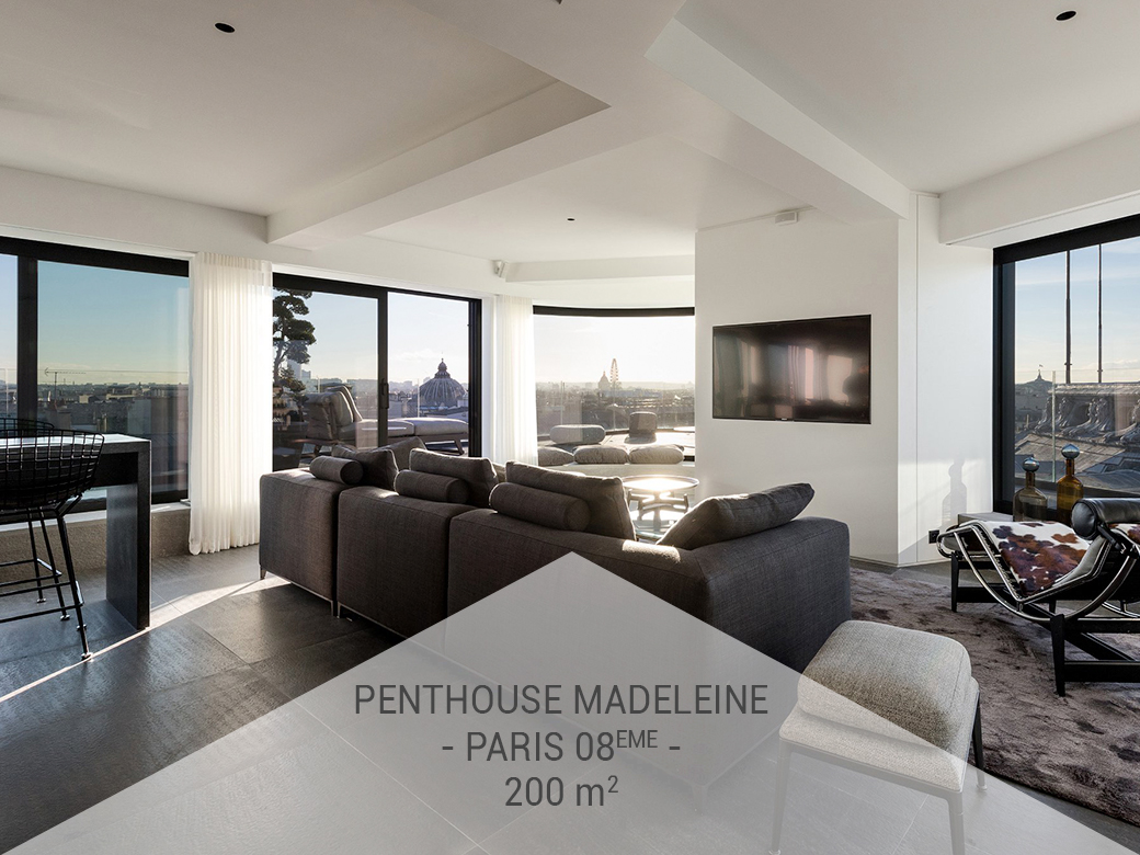 Privatisation - Le Penthouse Madeleine