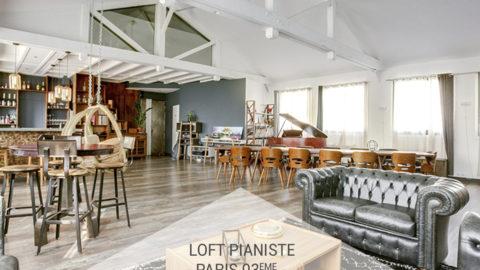 Le Loft Pianiste