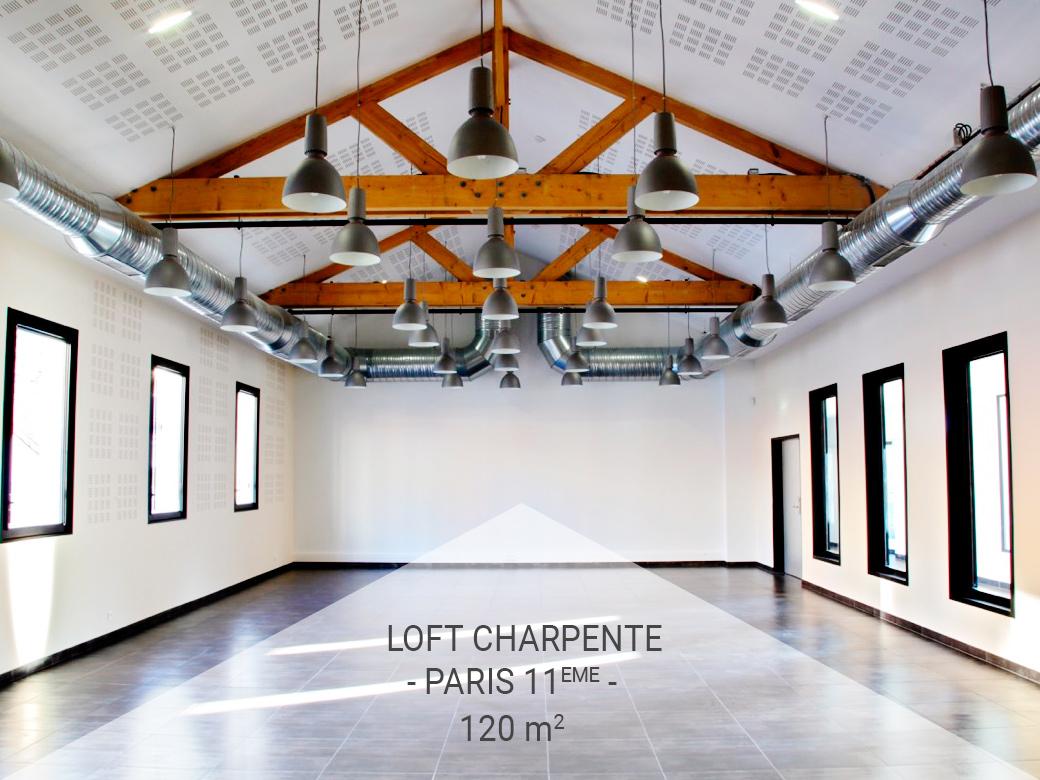 Loft à Charpente