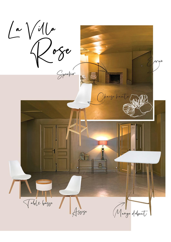 Sous-sol - Villa Rose - Soirée entreprise