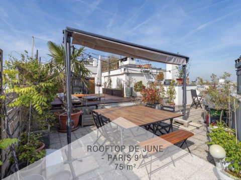 Le rooftop de June, Paris 9